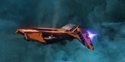 Starbase Spatha ship